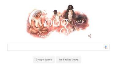 Google's Australia Day artwork.