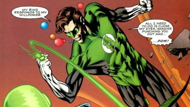 Ok, maybe not quite Green Lantern style.