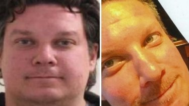 Police would like to speak with Jonathan Dick, pictured, about the death of his brother, David.