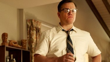 Matt Damon in Suburbicon.