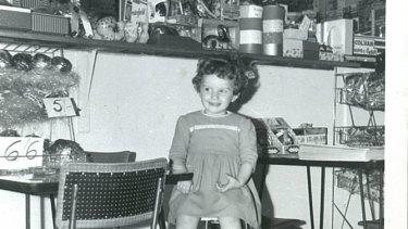 Maria Katsonis in her parent's milkbar.