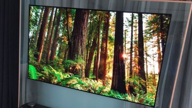 Hands on: LG wallpaper Ultra HD OLED television