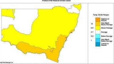NSW also mild overnight in June.