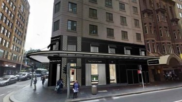 9d0bcf7905b Proposed Van Cleef   Arpels store at 112 Castlereagh Street.