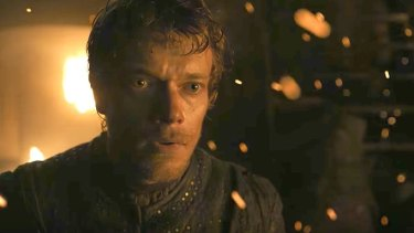 Not all there: Alfie Allen as Theon Greyjoy/Reek.