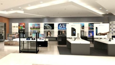 David Jones has launched its new technology offering.