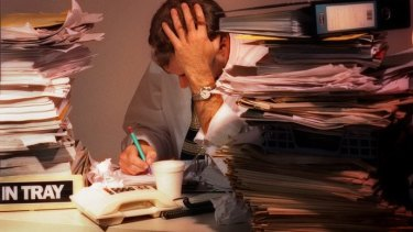 Those in high-stress offices were more likely to need two weeks or more off work a year, a study has found.