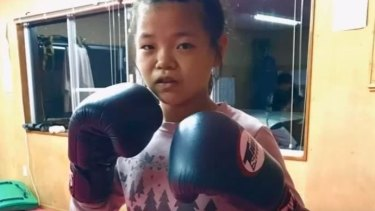 """""""I have fought boys in my age and they were bigger than my next opponent so for me, it's no difference of any other fight"""": Momo Shimizu."""
