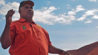 Traditional owner Sammy Wilson says it is time to stop climbing Uluru.