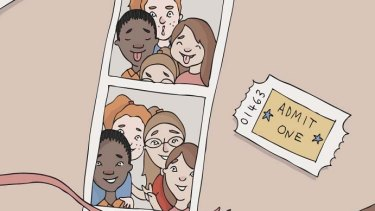 A web-based app will teach children about discrimination.