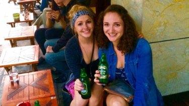 "Sophia Brockman (left) said she had a ""YOLO"" attitude during the trip."