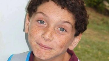 Tyrone Unsworth, 13, who took his own life after being bullied.