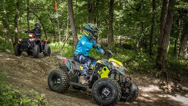 The Polaris Outlaw 50 is being recalled after it was found to have asbestos-laden parts.