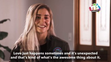 Frances Abbott appears in a new video for Australian Marriage Equality,
