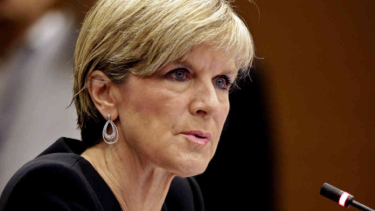 Foreign Minister Julie Bishop says the Turnbull government does not necessarily agree with every element of the statement signed in Paris.
