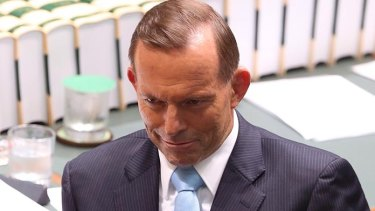 The armed guards will be in place whenever a member of the executive, which includes Prime Minister Tony Abbott, are in the chamber.