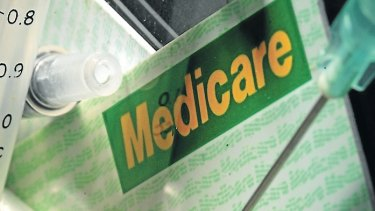 Department of Human Services general manager Hank Jongen denies there is a backlog of Medicare claims.