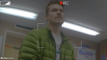 Ben Kremer captured in the undercover video.