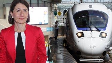 "NSW Premier Gladys Berejiklian is warming to the idea of Australia's own ""bullet train""."