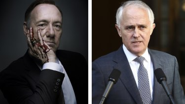 Netflix, home to <i>House of Cards</i>' Frank Underwood, is disruptive. For Malcolm Turnbull, disruption offers opportunities.