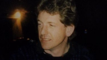 Thrown to his death from cliffs at Marks Park: John Russell, last seen alive drinking with friends at Bondi on November 23,1989.