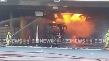The bus fire has sparked new fears about the gas buses operating in Perth