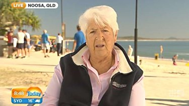 Dawn Fraser made a racist comment about Nick Kyrgios on national television.
