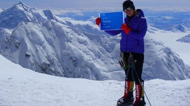 Maria Strydom suffered severe altitude sickness while climbing Mount Everest.