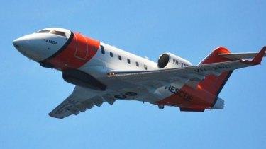 AMSA's Challenger jets have long range and endurance to patrol Australia's vast ocean spaces.