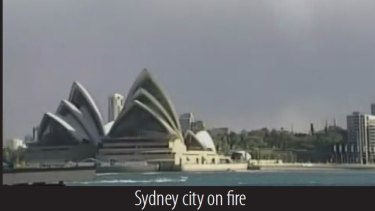Sydney on fire from 'Inspire' magazine.