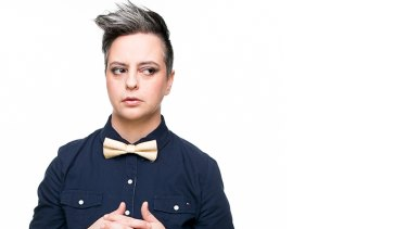 Comedian Geraldine Hickey's delivery is confident and conversational.