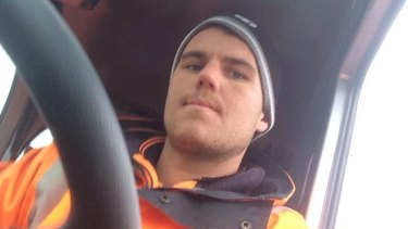 Matthew O'Connor is accused of killing cyclist Peter McGuffie, 54, in a hit and run on Barkly Street, West Footscray.