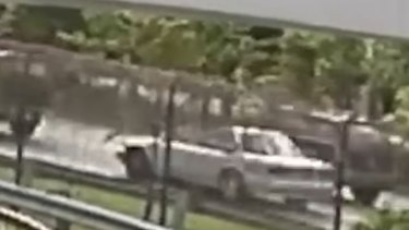 An image of the pastor's car from CCTV.