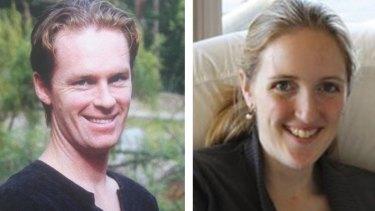 Lindt cafe siege victims Tori Johnson and Katrina Dawson.