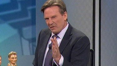 Sam Newman has weighed in on the controversy.