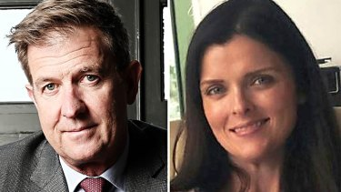 Seven CEO Tim Worner and former lover Amber Harrison, who says the AFL is unrealistic.