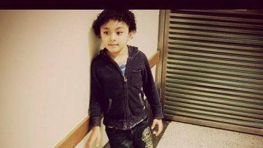Devante Faumuina, 6, drowned in a pool in Raby.