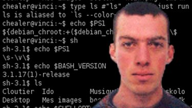 "Stephane Chazelas, the man who found the ""Shell Shock"" bug."