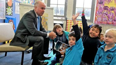 Adrian Piccoli says parents should focus more on their child's education.