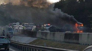 Major crash on the M1.