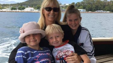 Stephanie King, pictured with her children (left to right) Chloe May, Jacob, and Ella Jane.