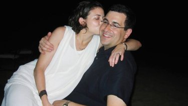 The photo Sheryl Sandberg posted on Facebook accompanying the tribute to her late husband David Goldberg.