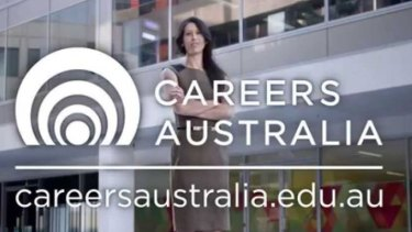 Students are threatening legal action against Careers Australia over web development and graphic design courses they claimed were effectively worthless.