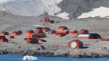 Esperanza Base, on the Antarctic Peninsula.