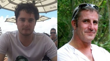 Australian men Jack Couranz and Mark Gabbedy were in the group kidnapped in Nigeria.