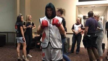 Canberra boxer Ben Dencio.