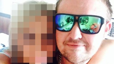 Bradley Beecham, detained by police in Bali, after a Jetstar plane bound for Phuket made a detour to off load four men.