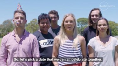 The ICEA Foundation video features members of its youth leadership group sharing their message about Australia Day.