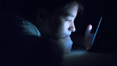 With or without technology in the bedroom, many teenagers find it difficult to get to sleep.
