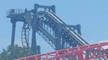 The fault on the Movie World ride comes after a safety blitz on theme parks in Queensland.
